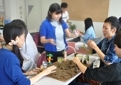 学生自身も楽しんで実施できるのも この授業のポイントです。